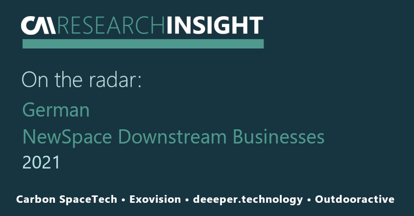 On the Radar: 4 innovative Downstream Businesses in the Earth Observation Market